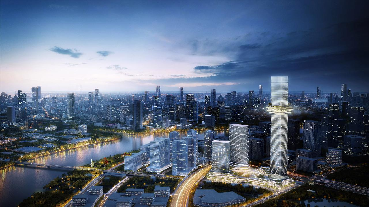 Ole Scheeren references mountain landscapes in design for Vietnam skyscraper blog bimK 7