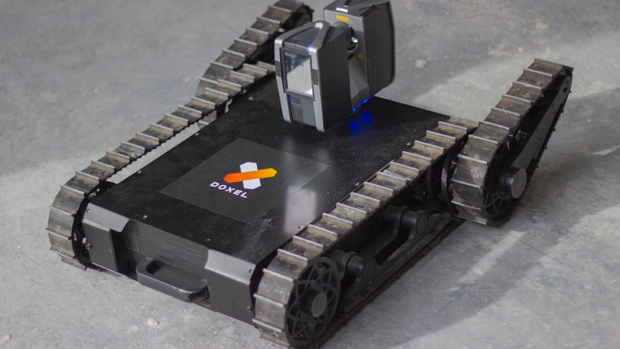 Doxel's lidar-equipped robots help track construction projects and catch mistakes as they happen blog bimK 1